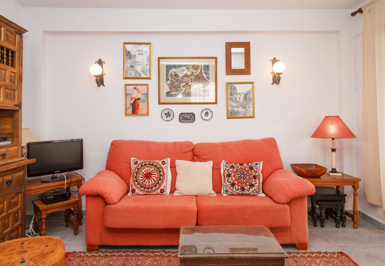 Appartement à Nerja - Appartement avec 2 chambres à50 mde la plage