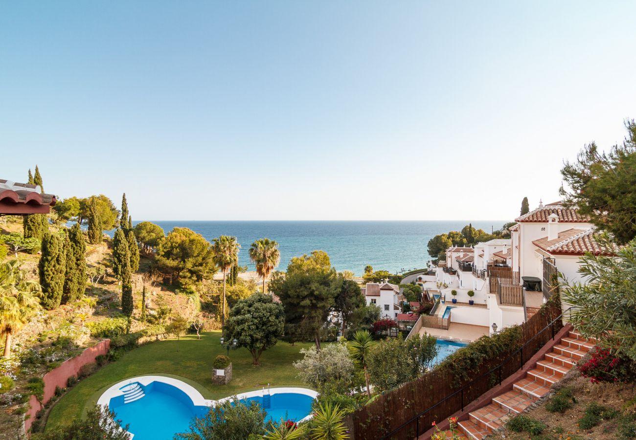 Villa à Nerja - Villa avec piscine à2 kmde la plage