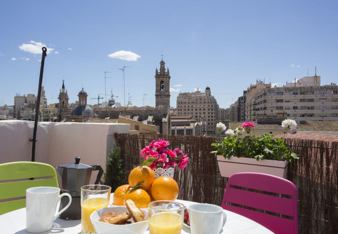 Appartement à Valence / Valencia - Appartement avec 1 chambres à Valencia / València