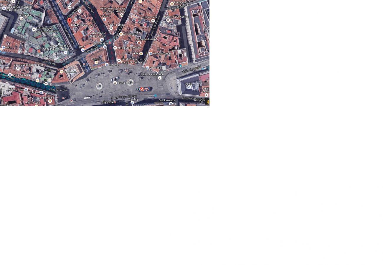 Appartement à Madrid - Modern Madrid Downtown Puerta Del Sol M (PRE2B)