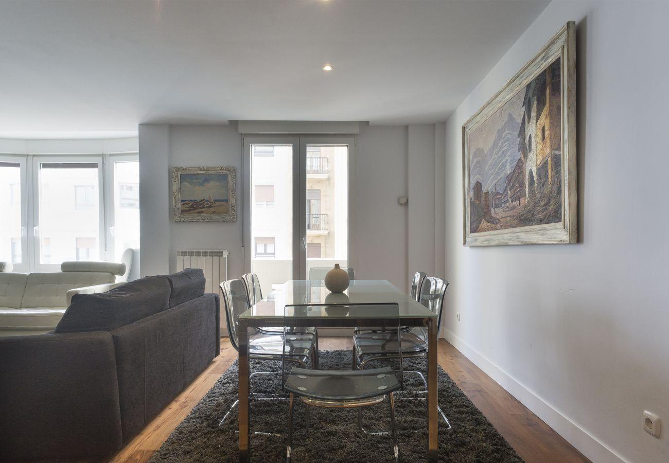 Appartement à San Sebastián - Appartement pour 5 personnes à100 mde la plage