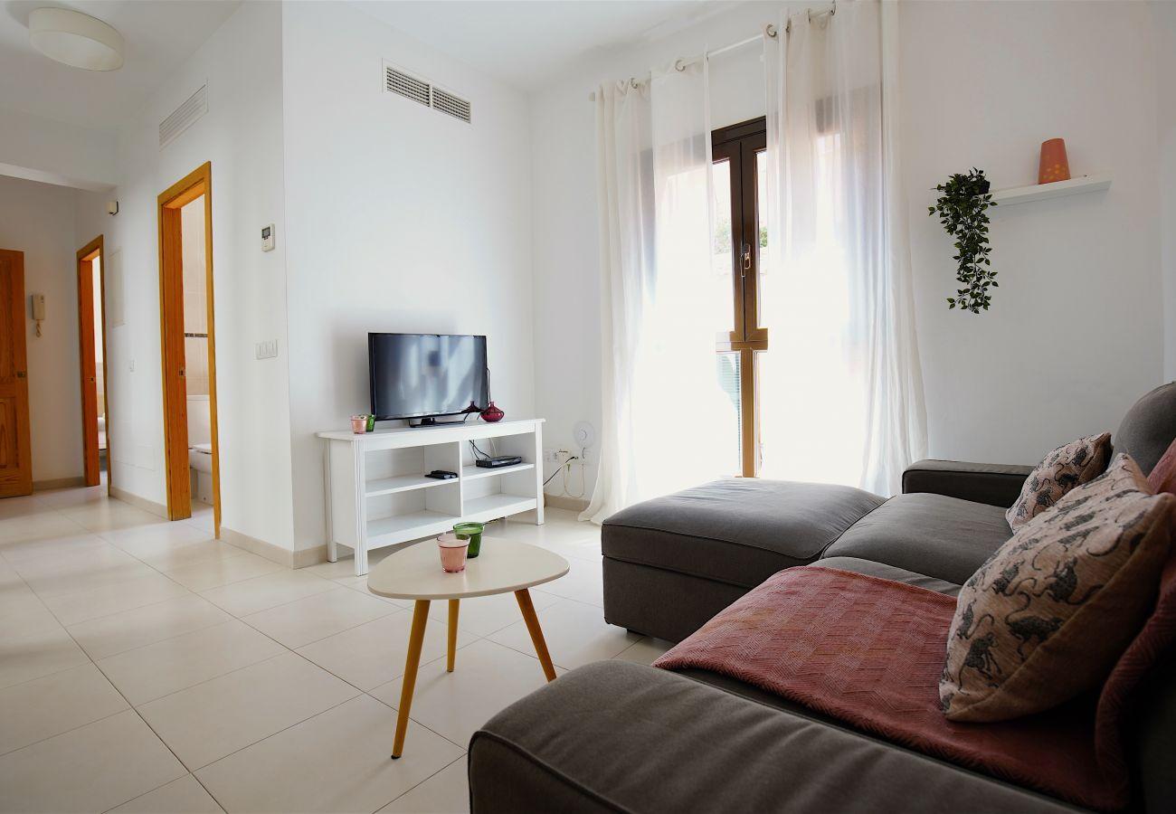 Appartement à Majorque/Mallorca - Appartement avec 3 chambres à1 kmde la plage