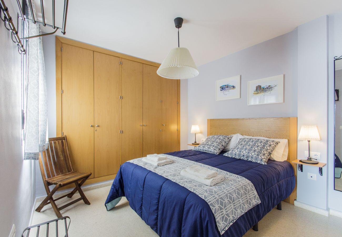Appartement à Cadix - Appartement avec 1 chambres à250 mde la plage