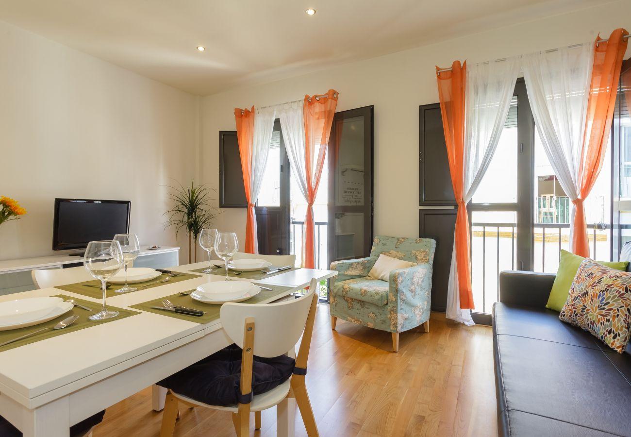 Appartement à Cadix - Appartement avec 1 chambres à270 mde la plage