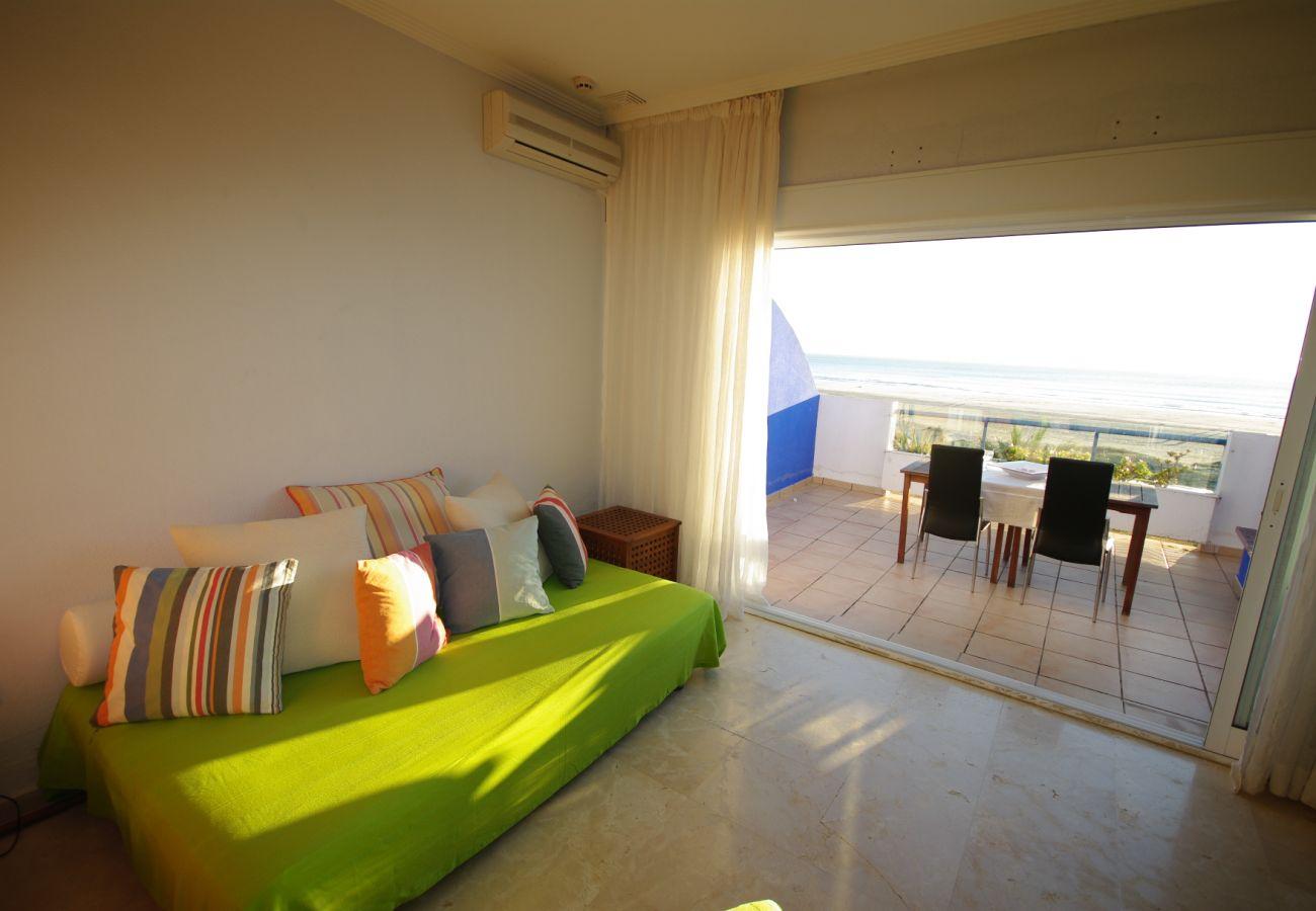 Appartement à Tarifa - Appartement pour 5 personnes à10 mde la plage