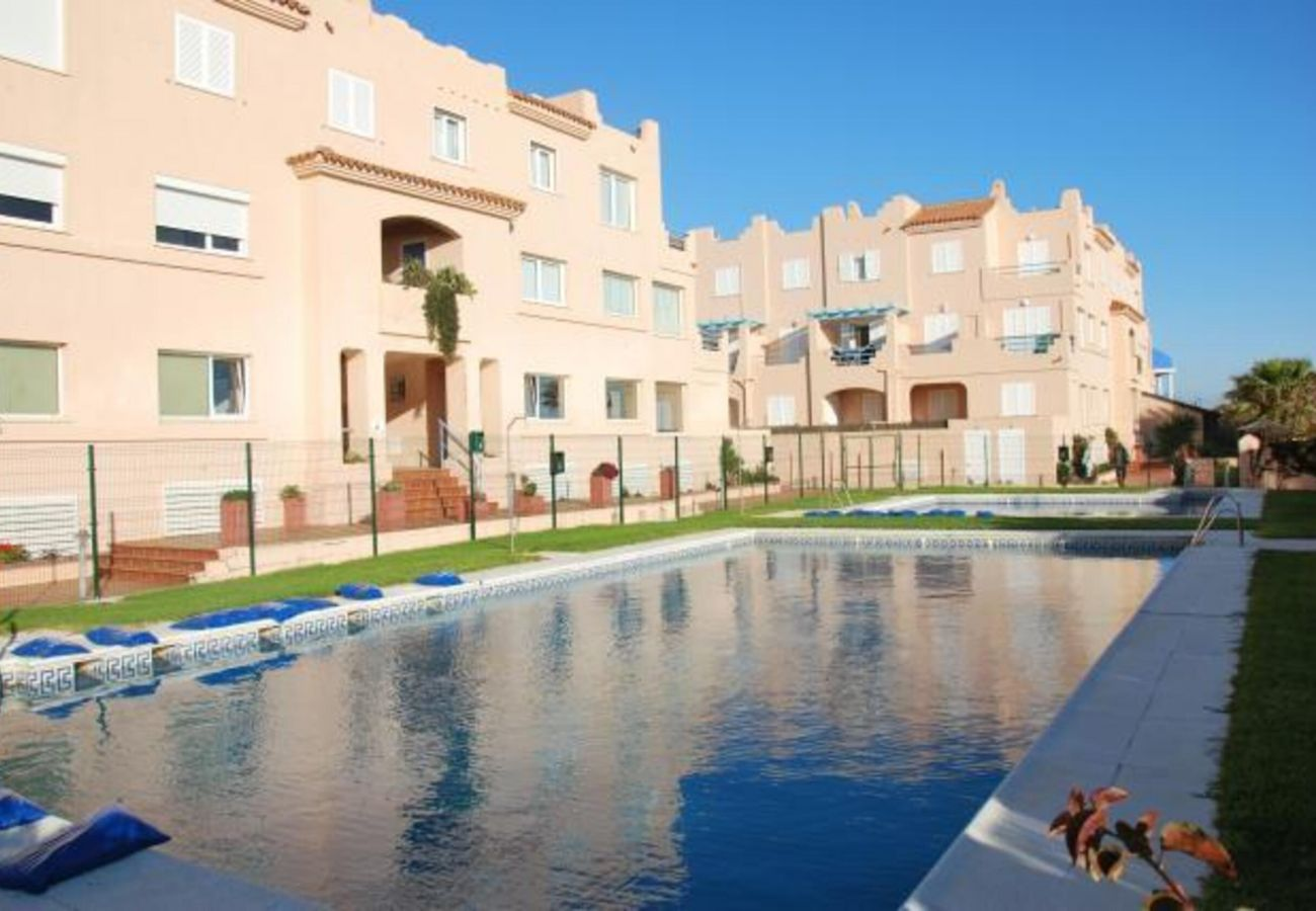 Appartement à Tarifa - Appartement avec piscine à 20 m de la plage