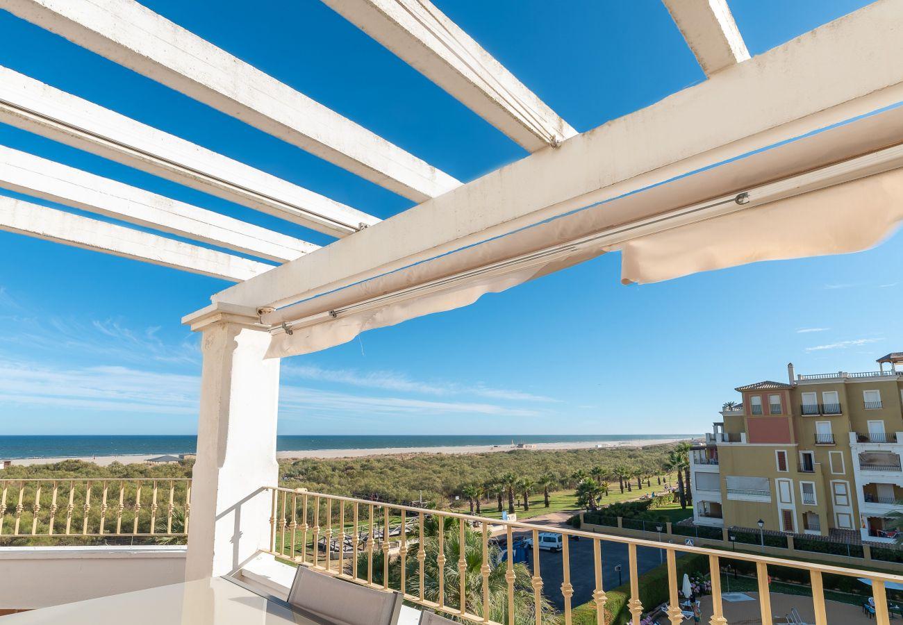 Appartement à Ayamonte - Appartement avec piscine à150 mde la plage