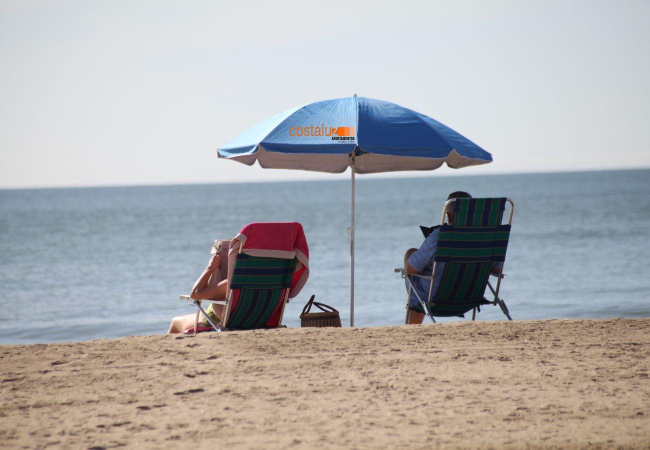 Appartement à El Portil - Appartement pour 5 personnes à300 mde la plage