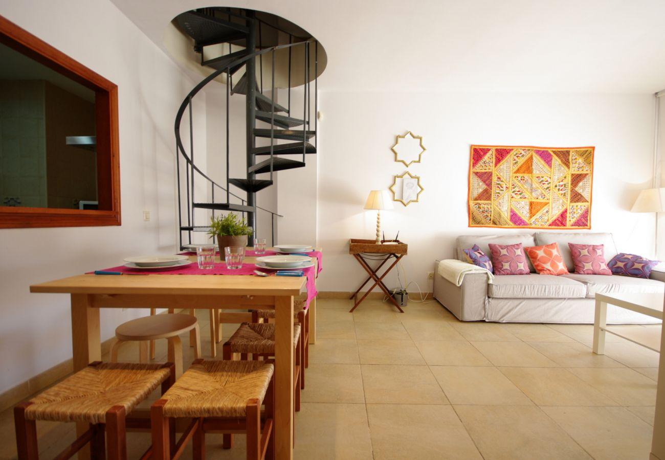 Appartement à Tarifa - Appartement avec 3 chambres à50 mde la plage