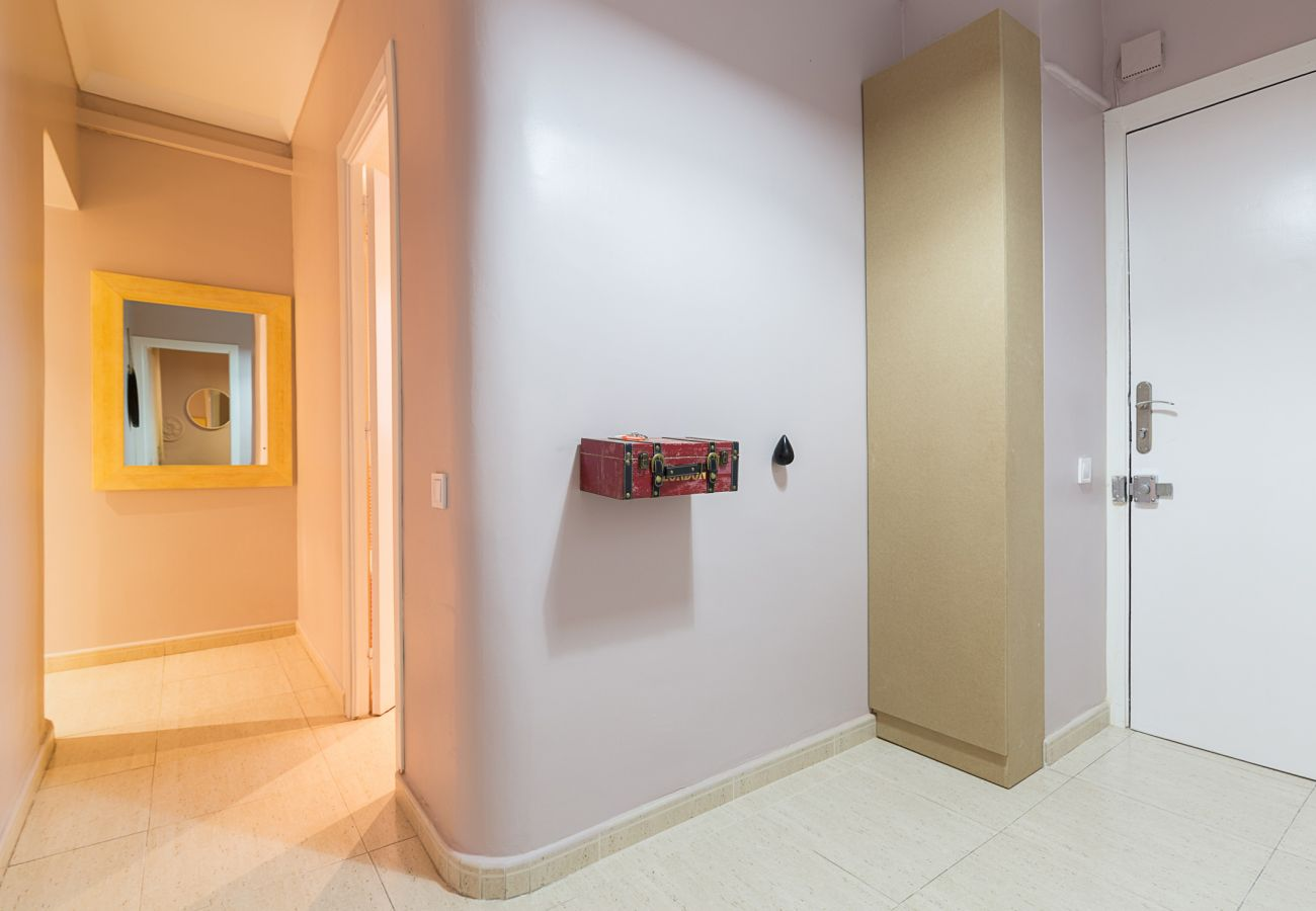 salle dans l'appartement plaza españa barcelona