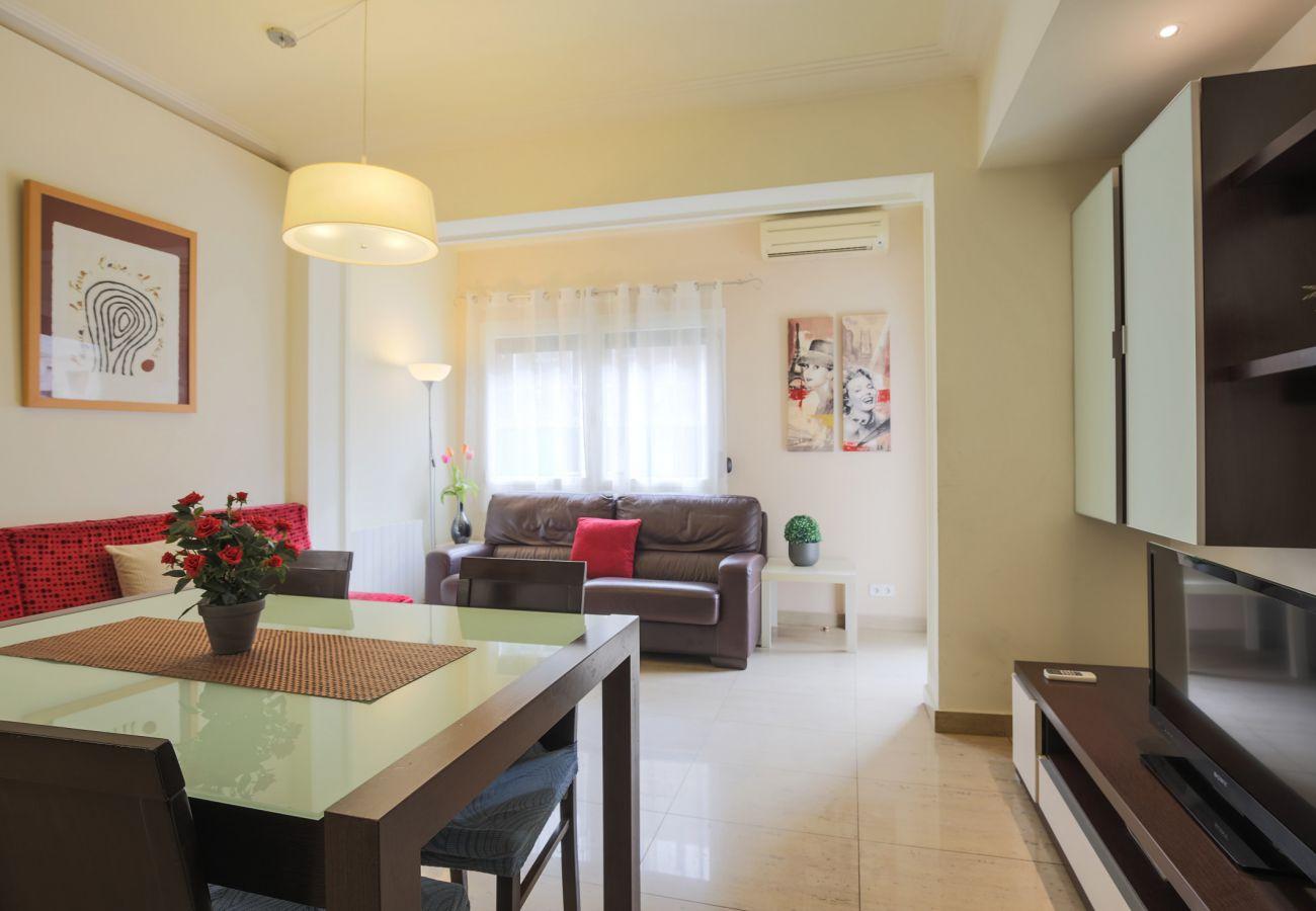 Grand et lumineux appartement dans le quartier de Sant Antoni, Barcelone