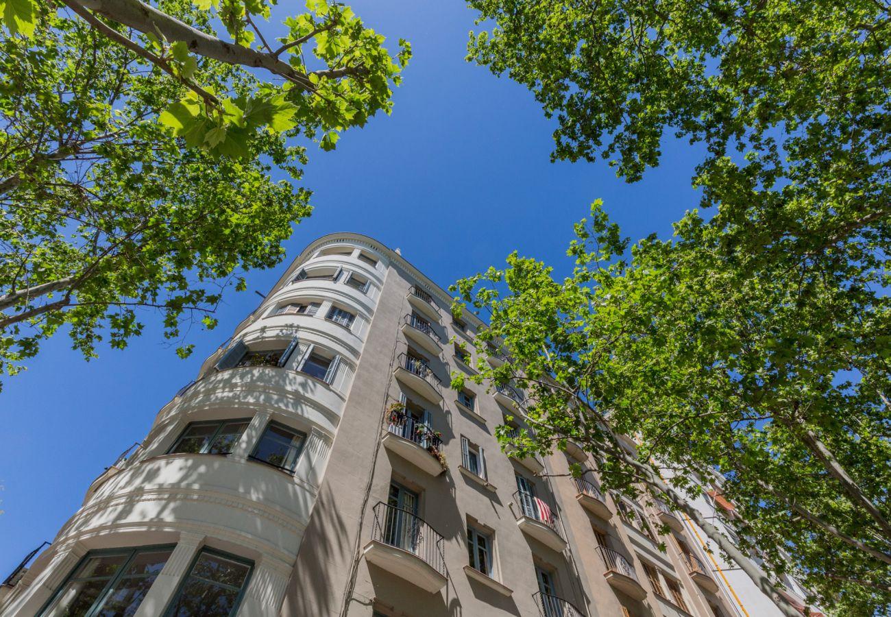 Appartement à Barcelone - ATIC CIUTADELLA PARK en location en vacances, appartement lumineux, terrace comune.