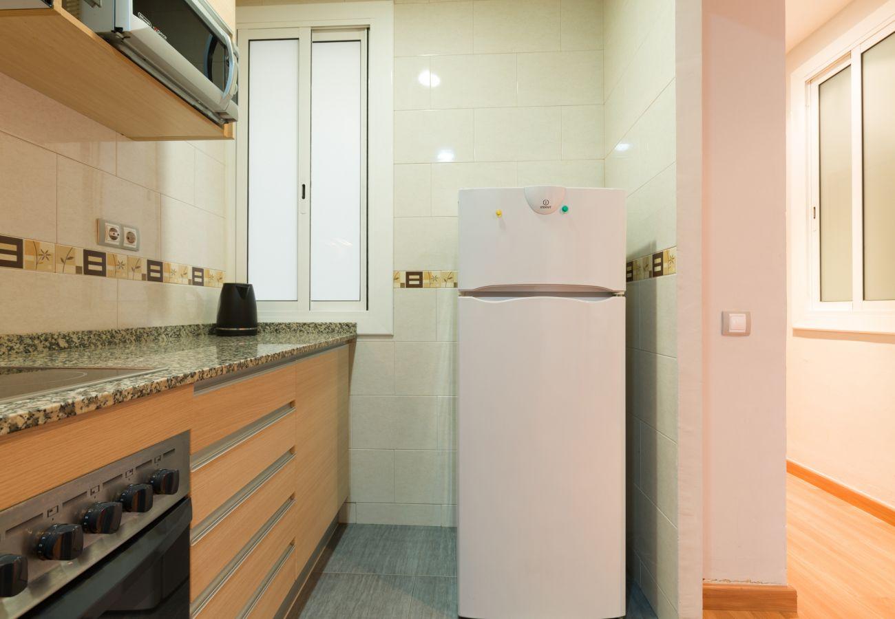Appartement à Barcelone - Appartement rénové ettranquile avec terrasse à louer dans le centre de Barcelone, Gracia