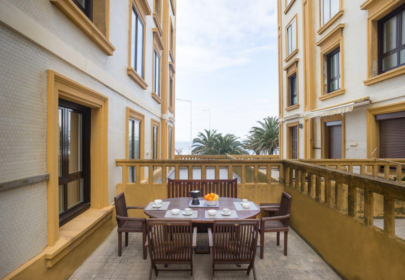 Appartement à San Sebastián - Appartement avec 4 chambres à50 mde la plage