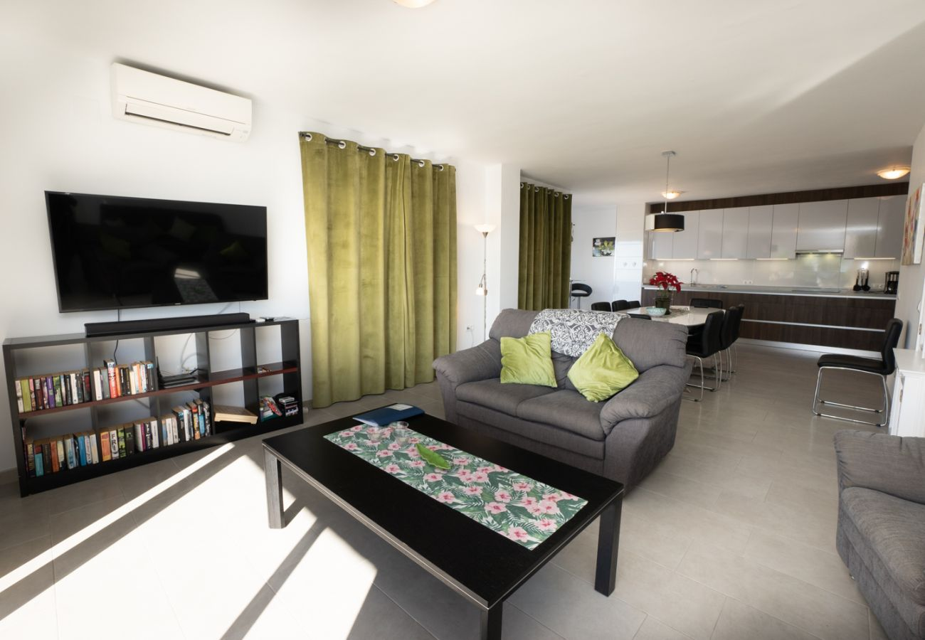 Appartement à Nerja - Appartement avec 4 chambres à100 mde la plage