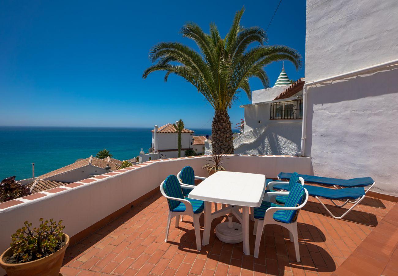 Appartement à Nerja - Appartement avec 1 chambres à400 mde la plage