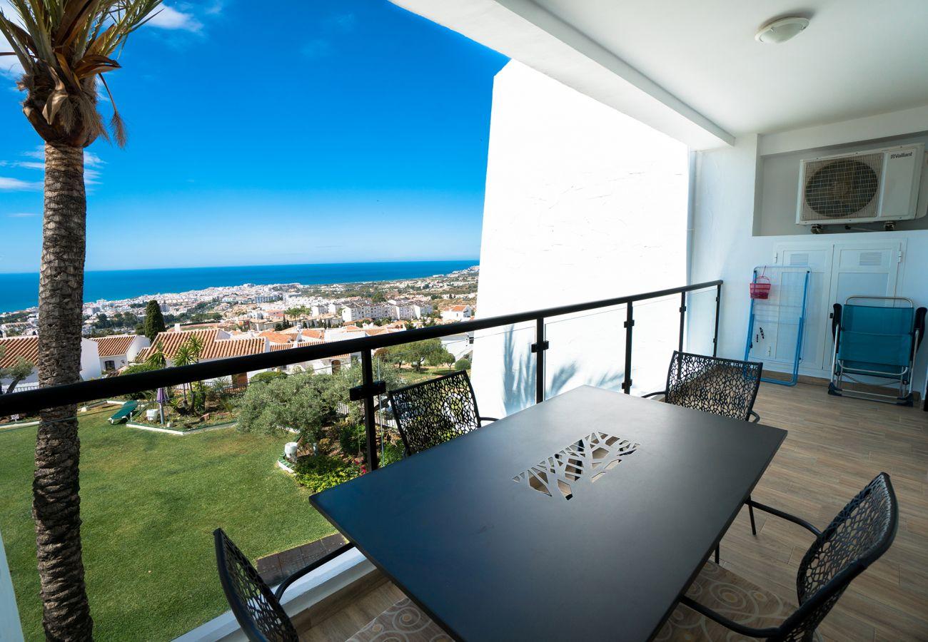 Appartement à Nerja - Appartement avec 1 chambres à2 kmde la plage