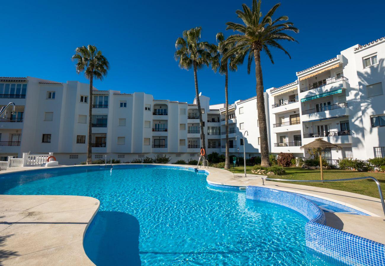 Appartement à Nerja - Appartement avec 1 chambres à100 mde la plage