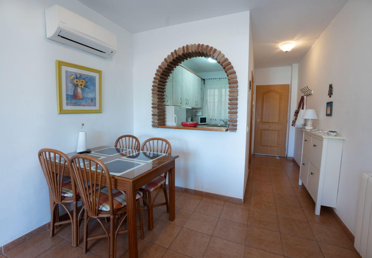 Appartement à Nerja - Appartement avec 2 chambres à100 mde la plage