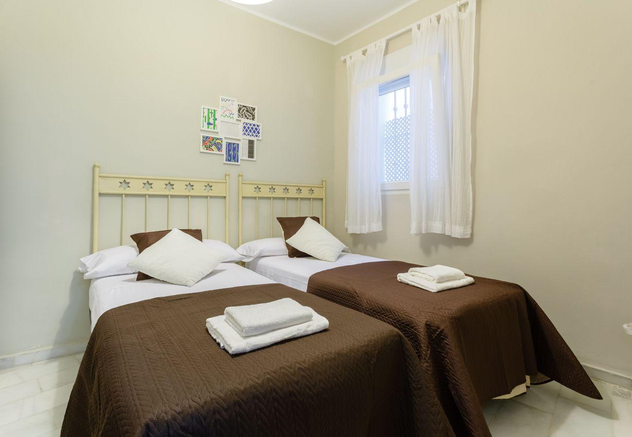 Appartement à Cadix - Appartement avec climatisation à1 kmde la plage