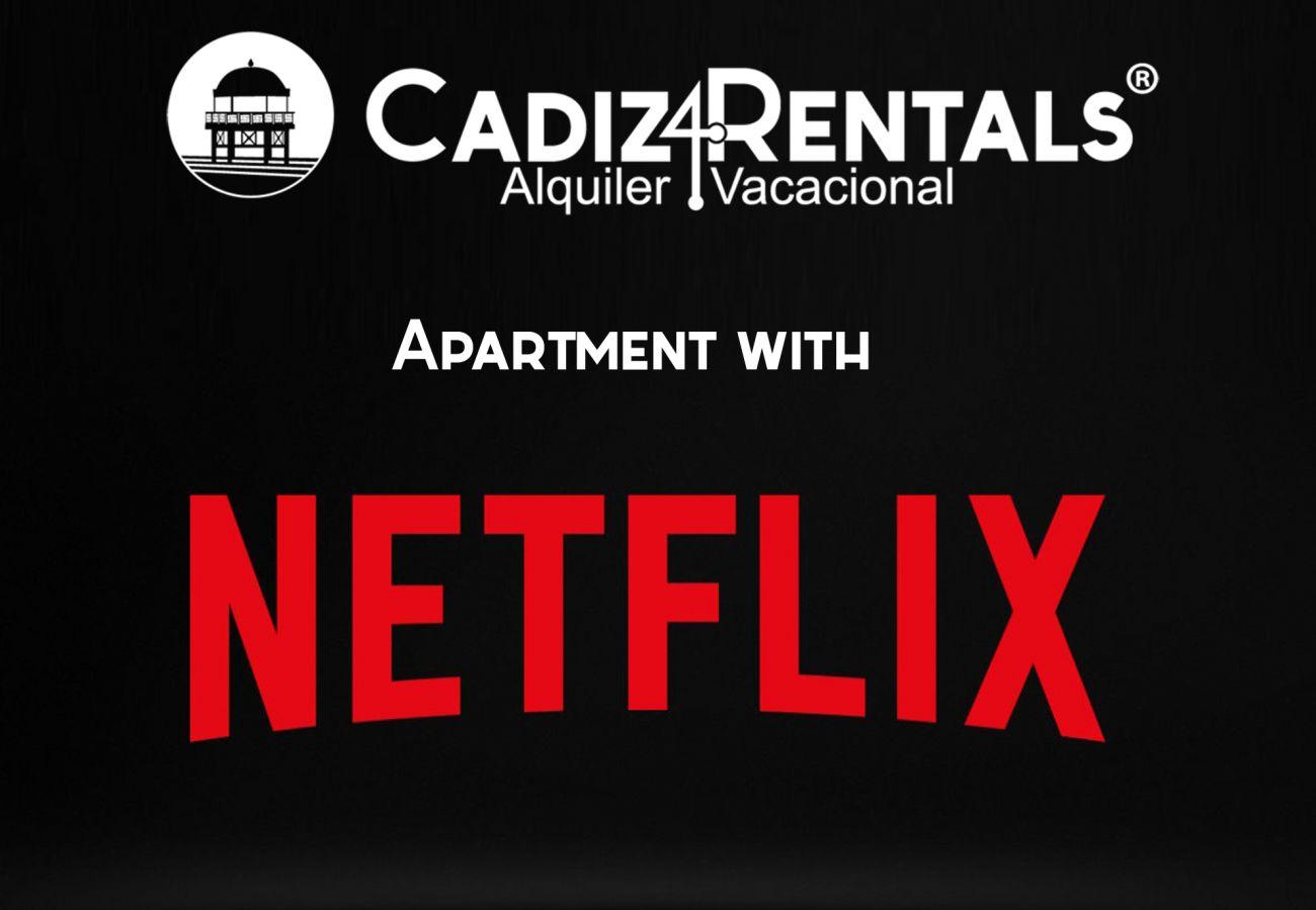 Appartement à Cadix - Appartement pour 6 personnes à150 mde la plage
