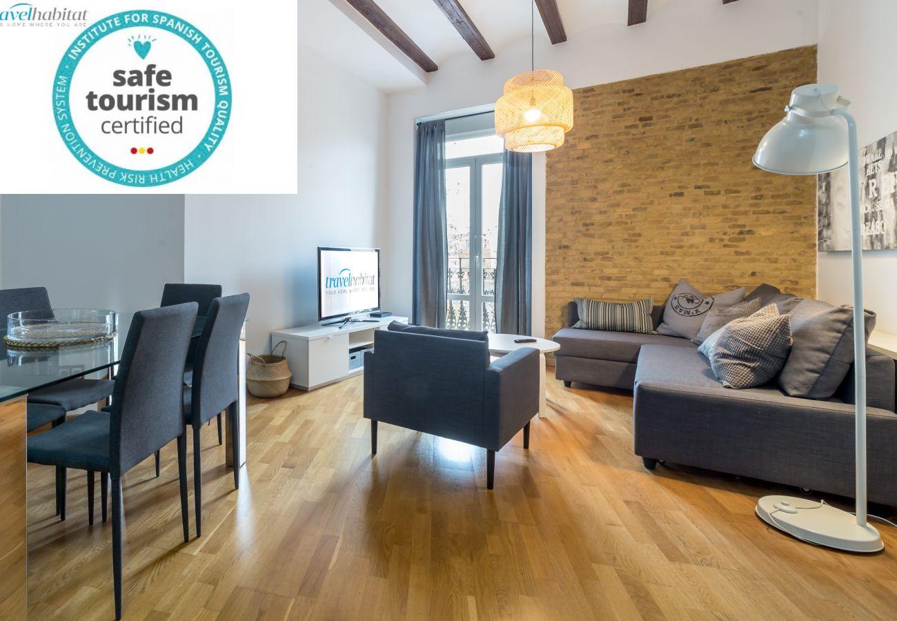 Appartement à Valence / Valencia - Travel Habitat B Jardines Rio Turia