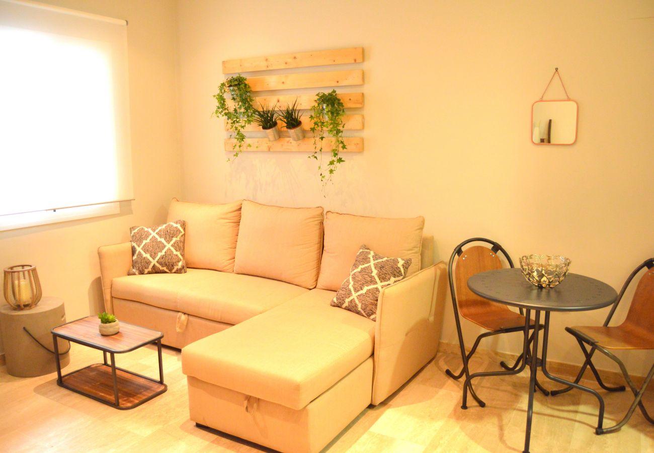 Appartement à Cadix - Appartement avec 1 chambres à150 mde la plage