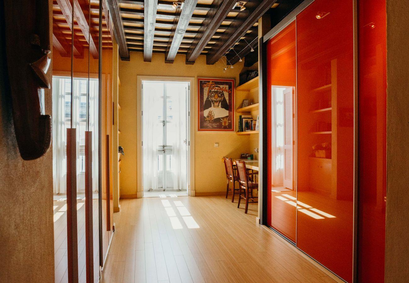 Appartement à Cadix - Appartement avec 1 chambres à900 mde la plage