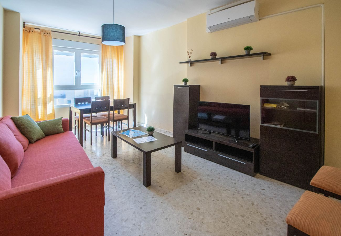 Appartement à Cadix - Appartement avec 2 chambres à5 mde la plage