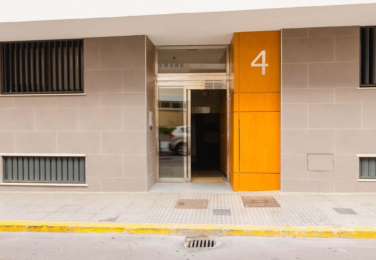 Appartement à Cadix - Appartement avec climatisation à5 mde la plage