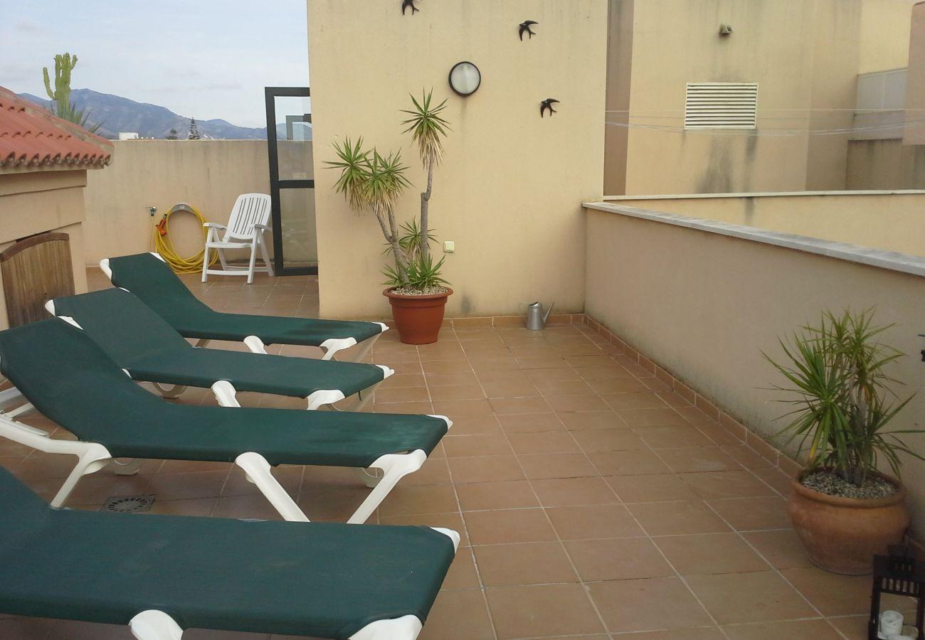 Appartement à Nerja - Appartement avec piscine à400 mde la plage