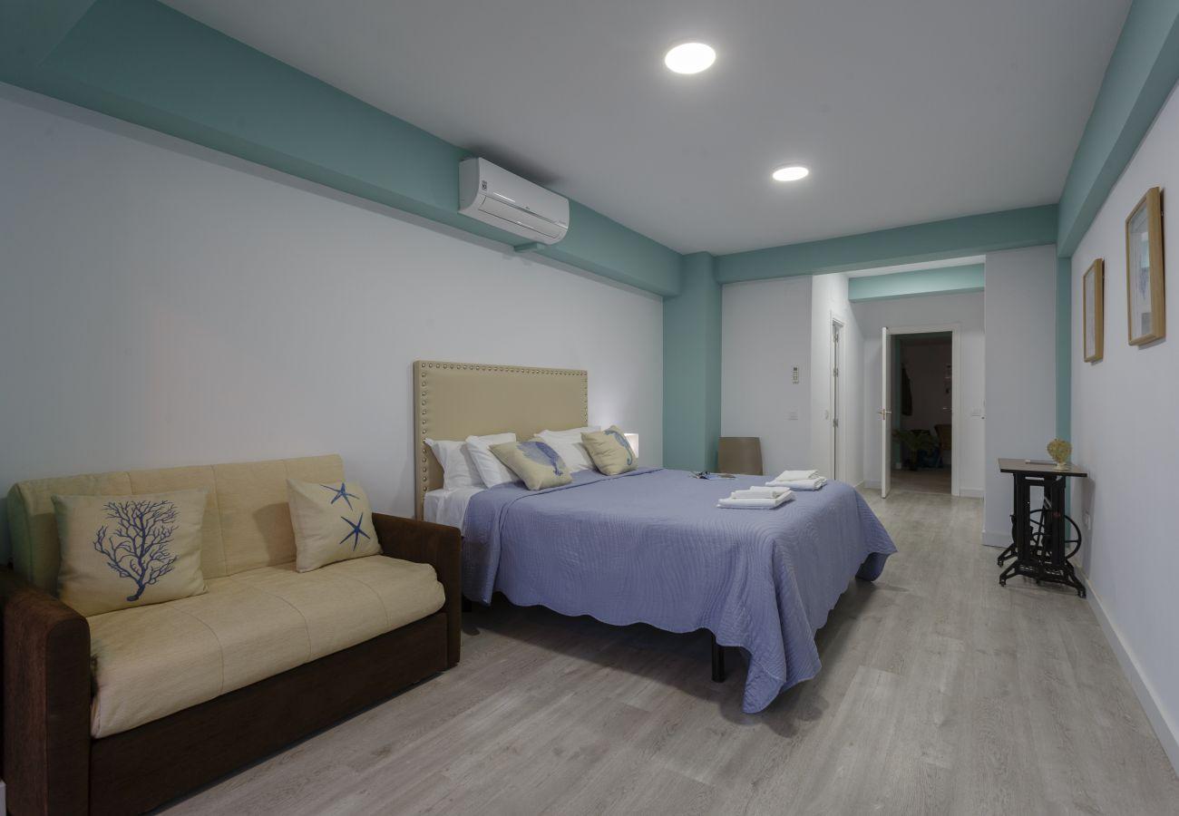 Appartement à Cadix - Appartement pour 9 personnes à100 mde la plage