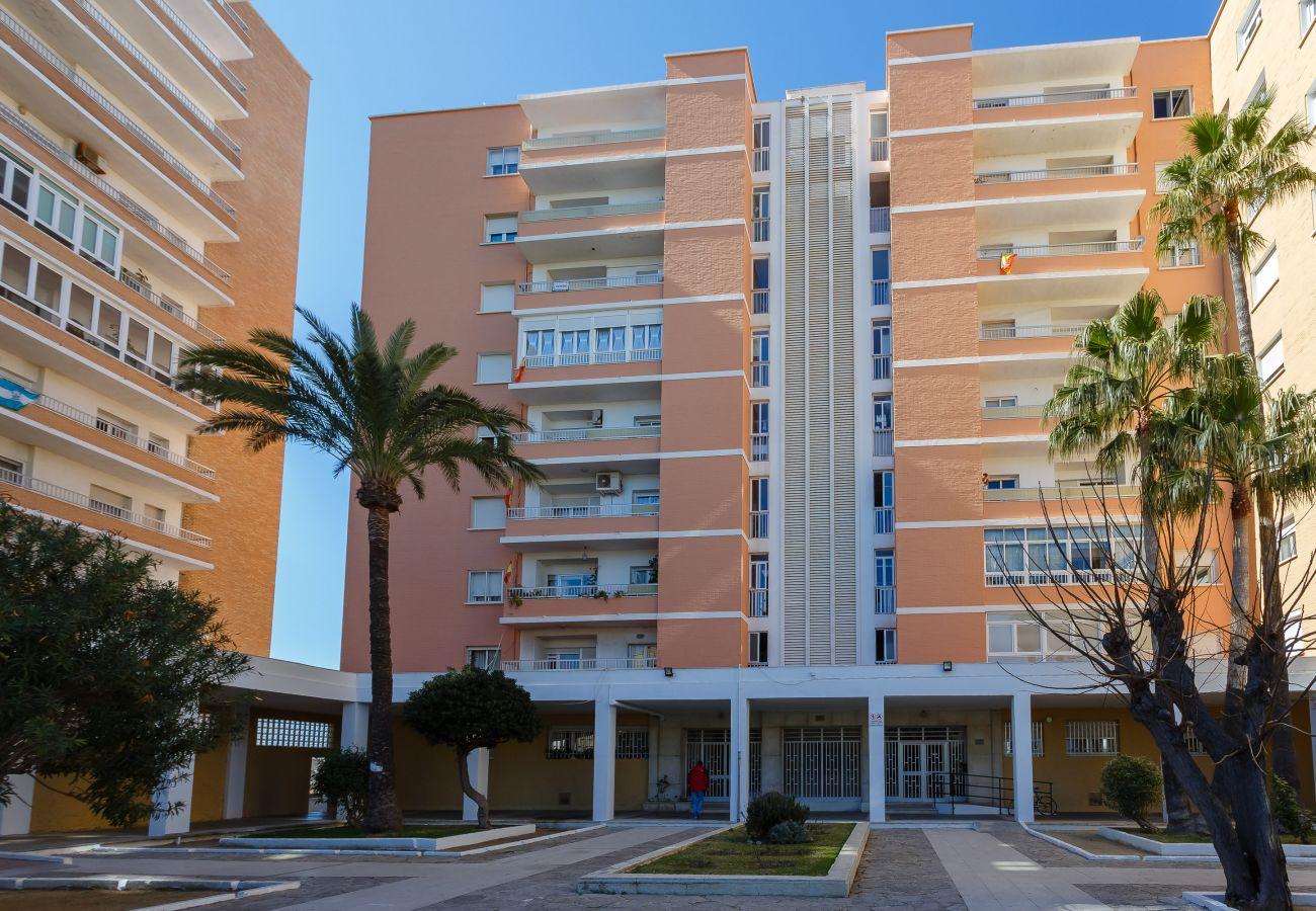 Appartement à Cadix - Appartement avec 4 chambres à150 mde la plage