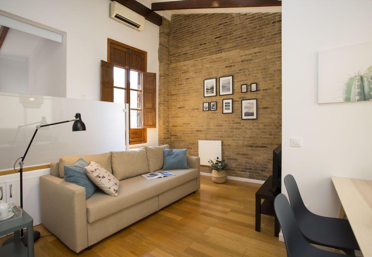 Appartement à Valence / Valencia - Appartement avec 1 chambres à Valencia
