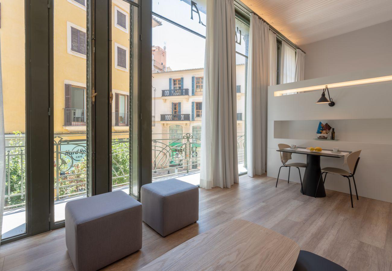 Appartement à Majorque/Mallorca - Appartement avec 1 chambres à2 kmde la plage