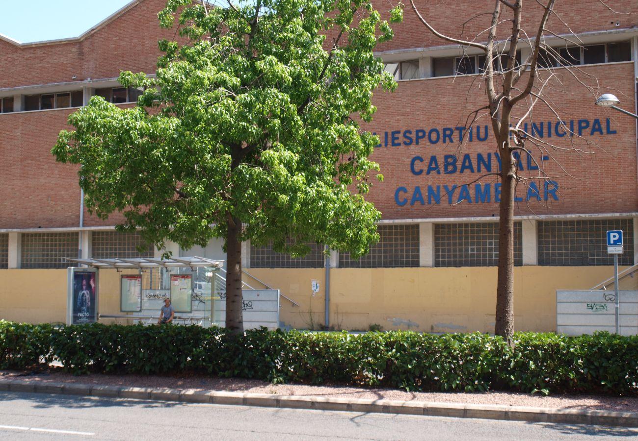Maison à Valence / Valencia - Maison avec climatisation à600 mde la plage