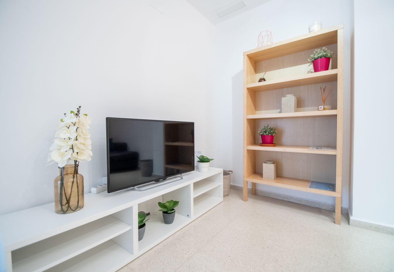 Appartement à Cadix - Appartement avec 3 chambres à500 mde la plage