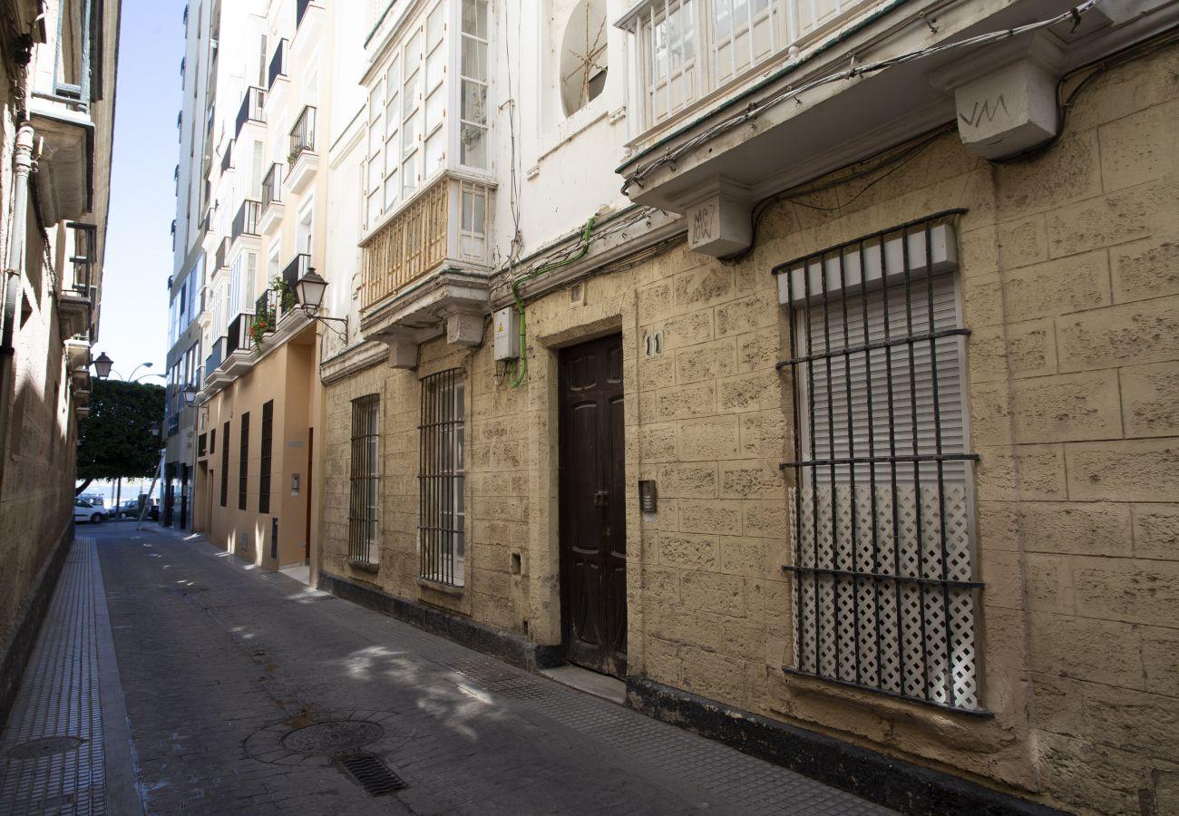 Appartement à Cadix - Appartement avec 2 chambres à Cádiz