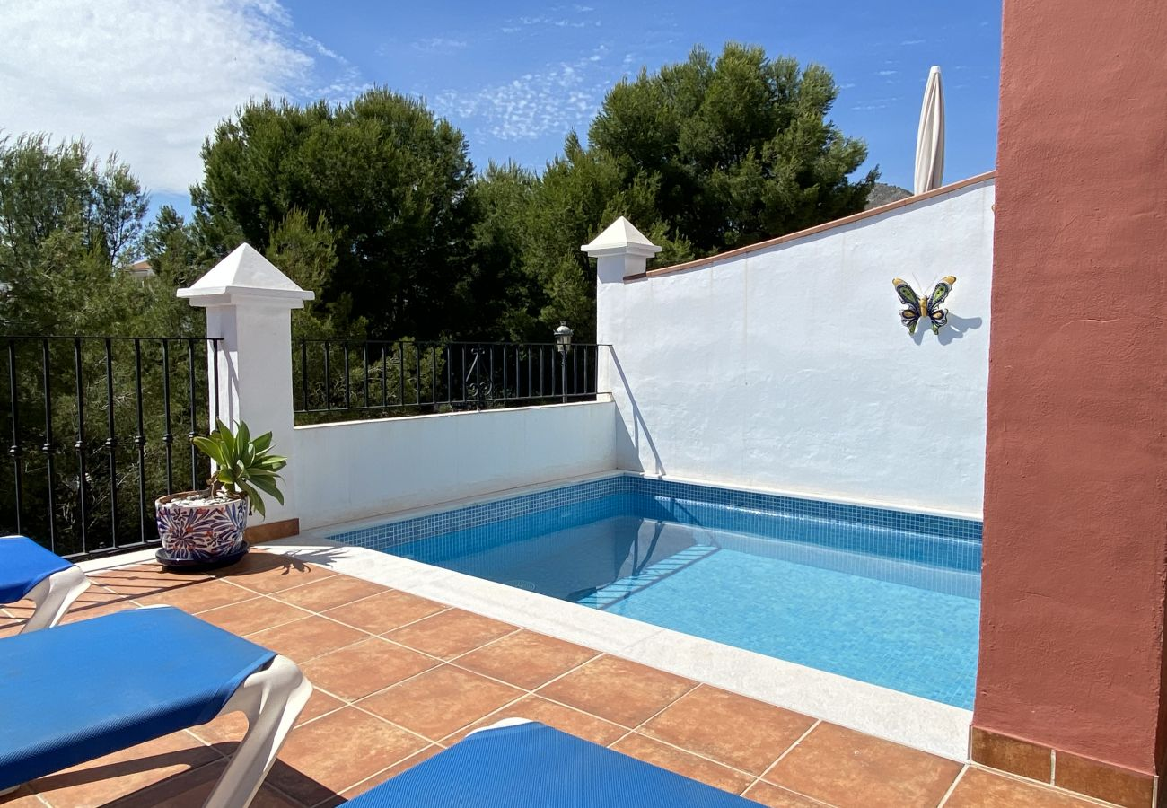 Villa à Nerja - Villa avec 4 chambres à600 mde la plage