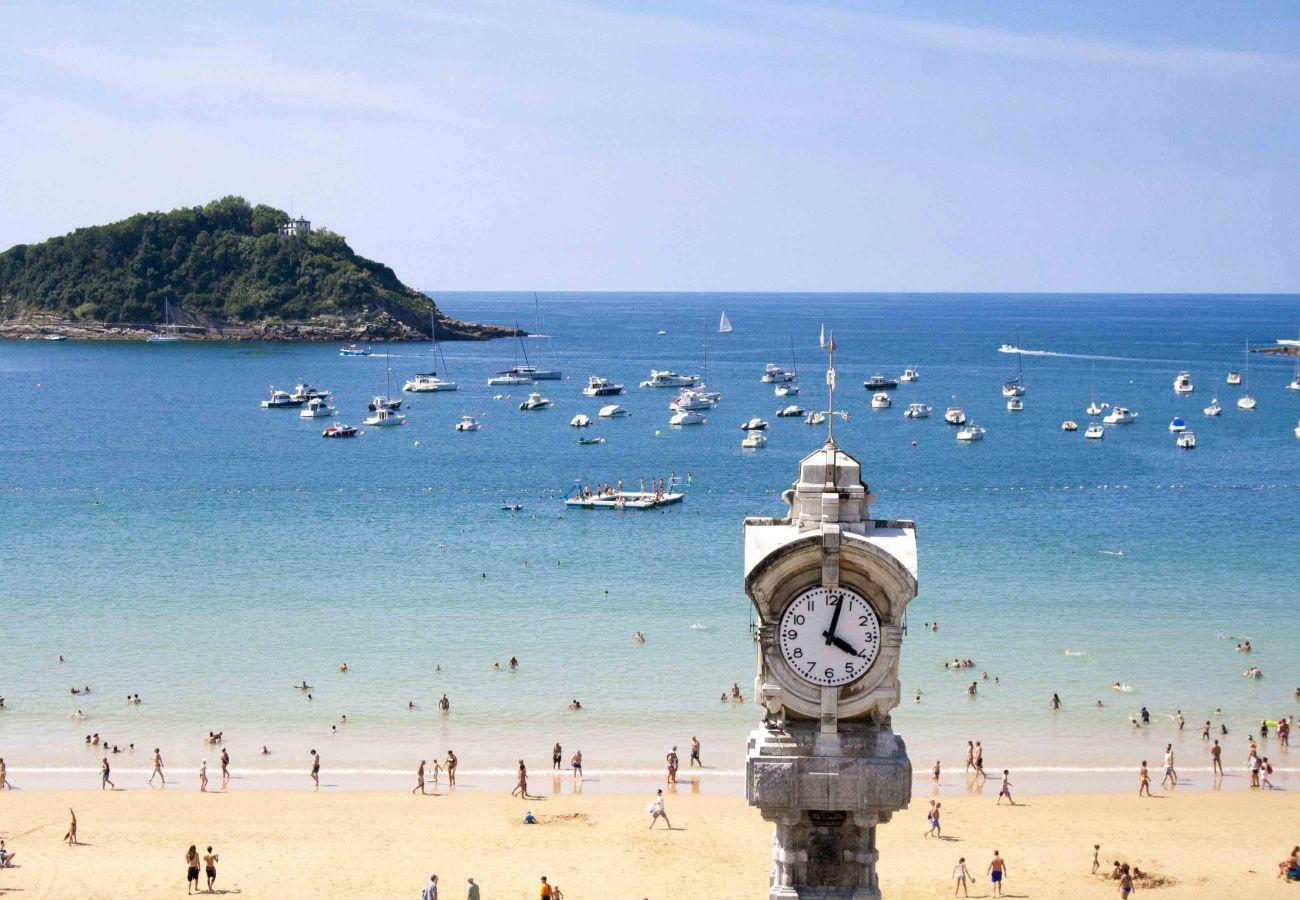 Appartement à San Sebastián - Appartement pour 8 personnes à20 mde la plage