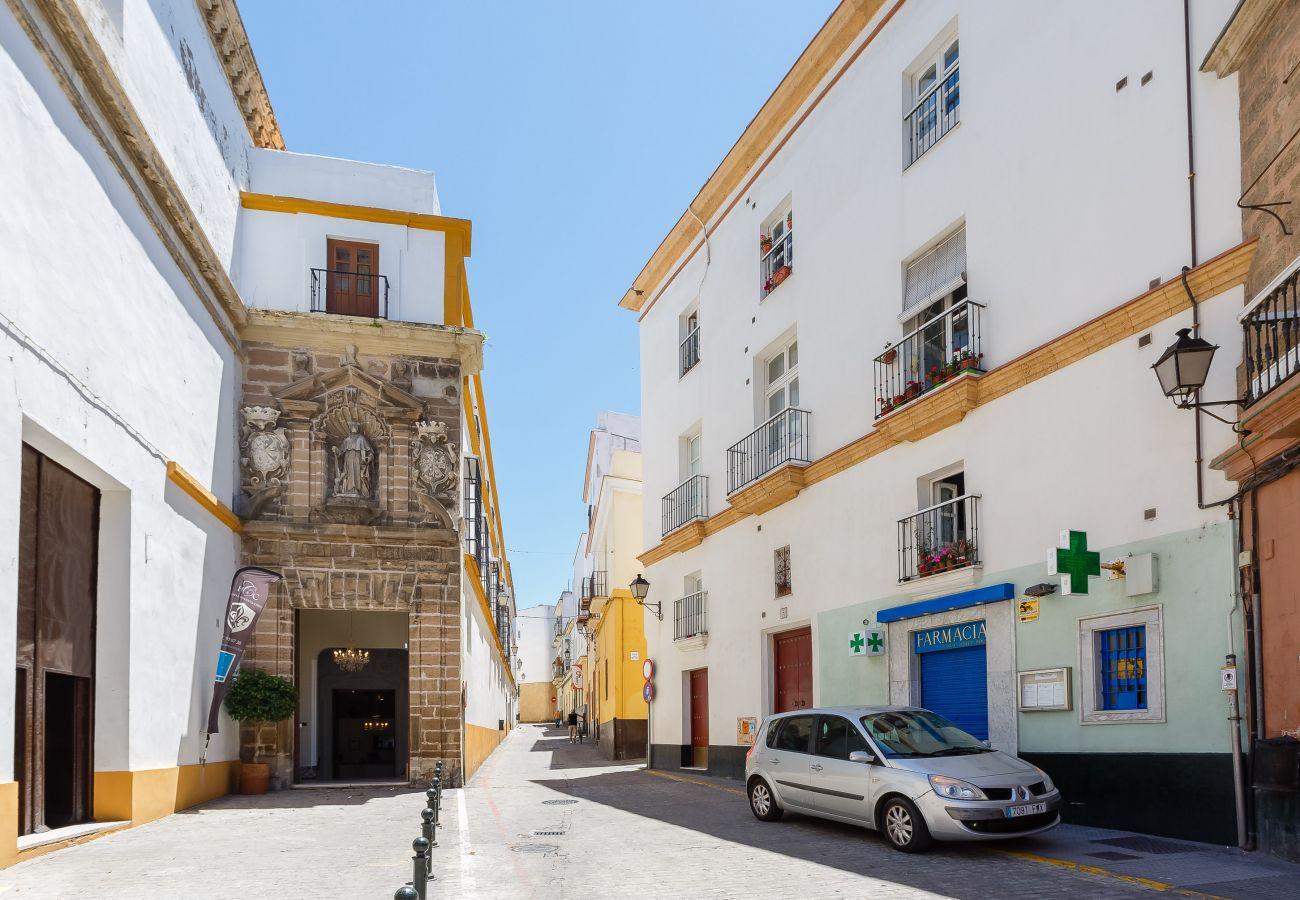 Appartement à Cadix - Appartement avec 2 chambres à800 mde la plage