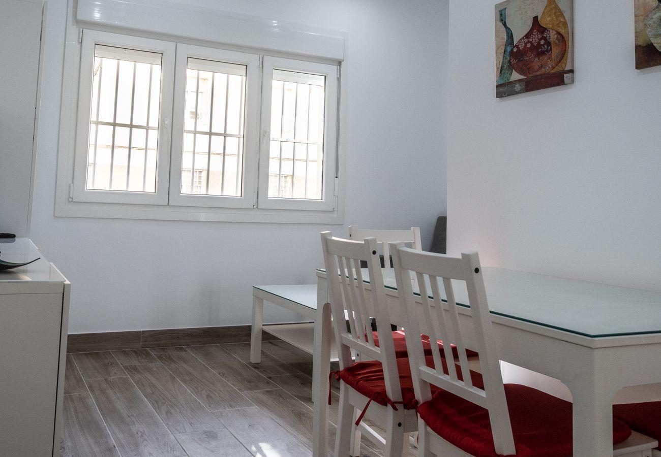 Appartement à Cadix - Appartement pour 4 personnes à10 mde la plage