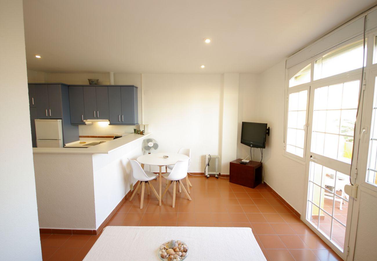 Appartement à Tarifa - Appartement pour 3 personnes à0 mde la plage