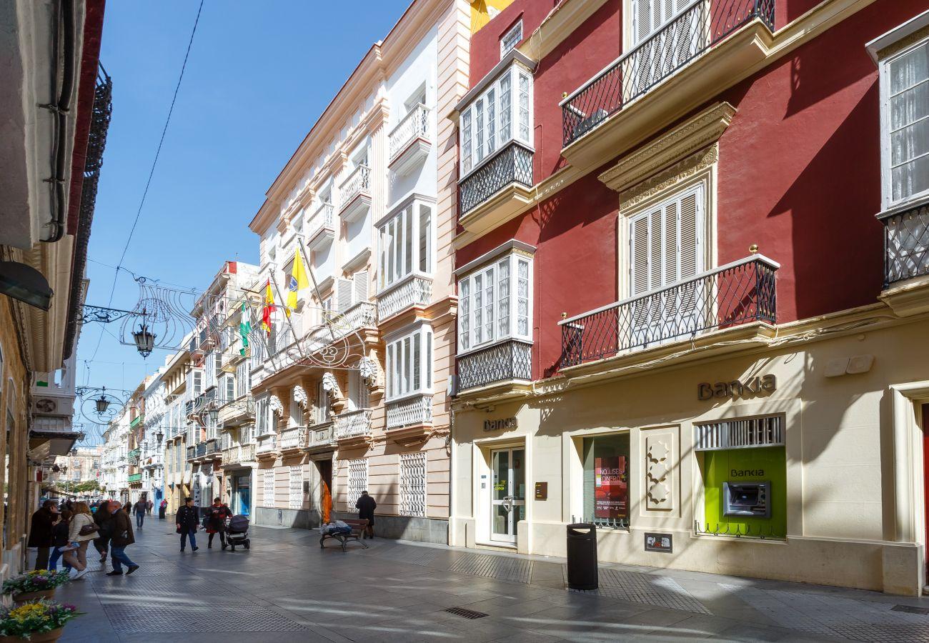 Appartement à Cadix - Appartement pour 7 personnes à1 kmde la plage