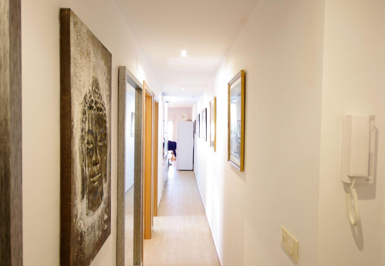 Appartement à Tarifa - Appartement avec 2 chambres à200 mde la plage
