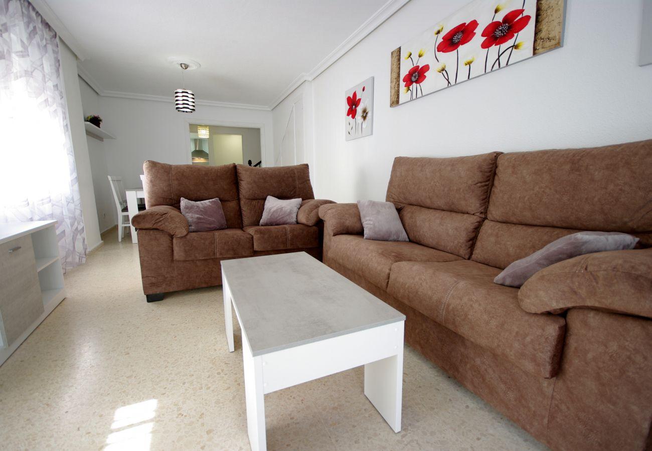 Maison mitoyenne à Tarifa - Maison mitoyenne pour 6 personnes à30 mde la plage