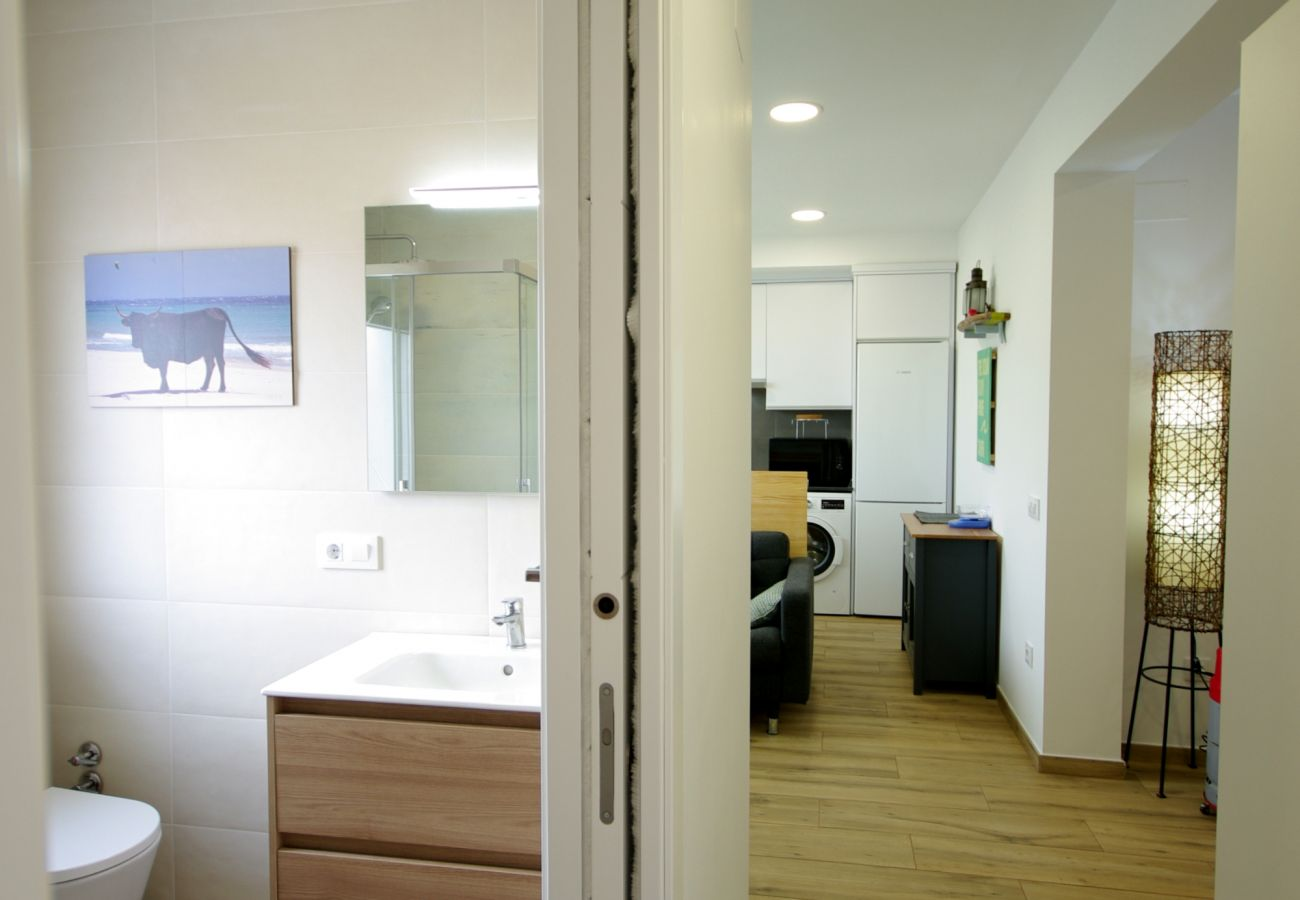 Appartement à Tarifa - Appartement avec climatisation à500 mde la plage