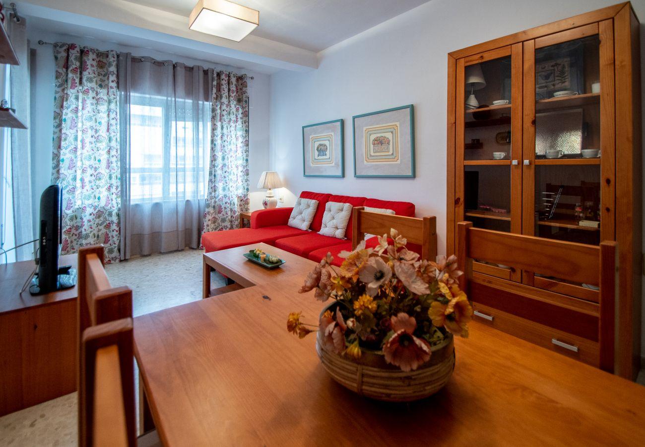 Appartement à Cadix - Appartement pour 6 personnes à10 mde la plage