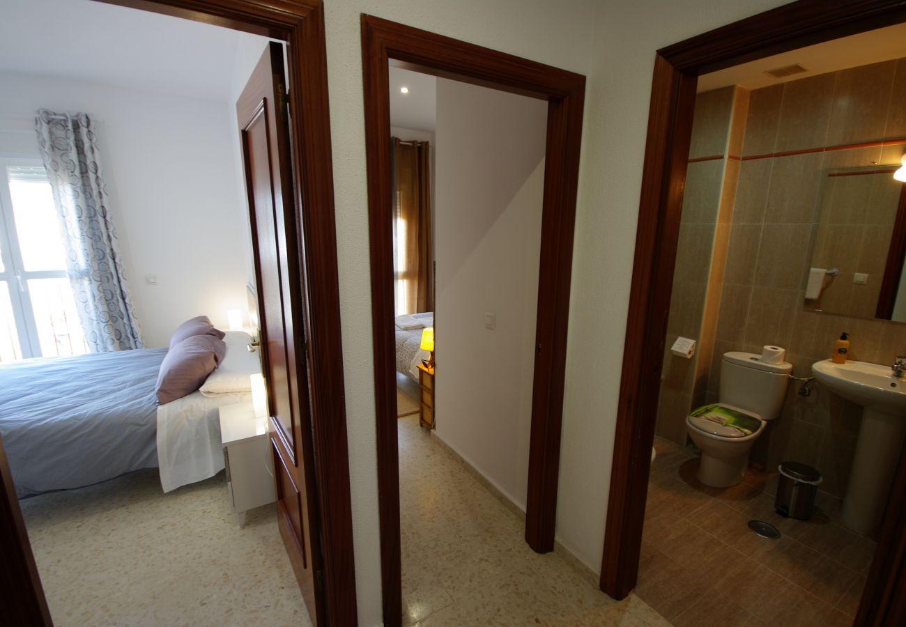 Maison mitoyenne à Tarifa - Maison mitoyenne avec 3 chambres à800 mde la plage
