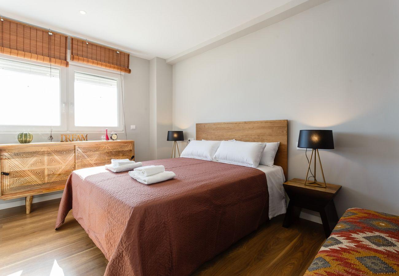 Appartement à Cadix - Appartement avec 2 chambres à350 mde la plage